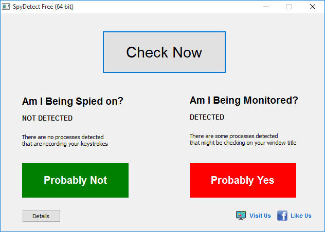 SpyDetectFree - Free Spyware Detector - Free software